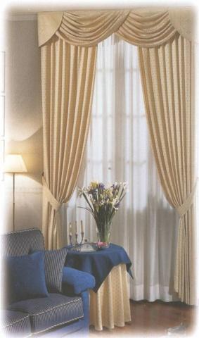 Tende per sale soggiorni tende tendaggi alta for Tendoni per soggiorno