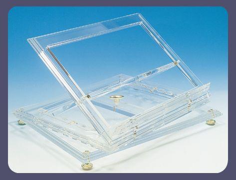 Leggio da tavolo in plexiglass plexdesign prodotti - Costruire un leggio da tavolo ...