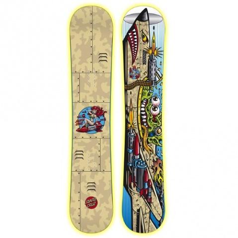 Tavola santa cruz gremlin tavole da snowboard - Tavole da snowboard santa cruz ...