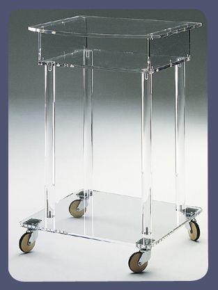 Carrello francoise plexdesign prodotti articoli - Porta tv plexiglass ...